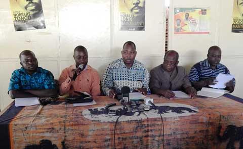 Séquestration de magistrat à Ouagadougou: Les organisations syndicales exigent l'arrêt des activités juridictionnelles sur toute l'étendue du territoire