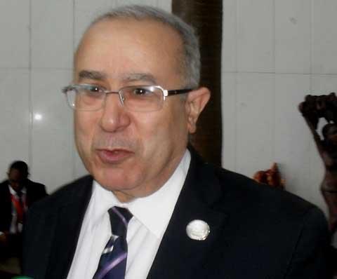 Ramtane Lamamra, ministre algérien des Affaires étrangères:«Il faut que les élections au Burkina soient couronnées de succès»