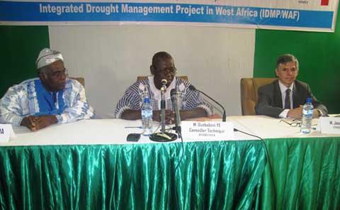 Lutte contre la sécheresse: le PROGIS/AO entre en scène