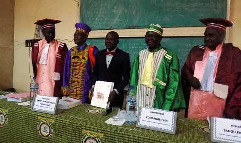 Université de Ouagadougou: Le premier docteur en Sociologie nommé Zakaria Soré