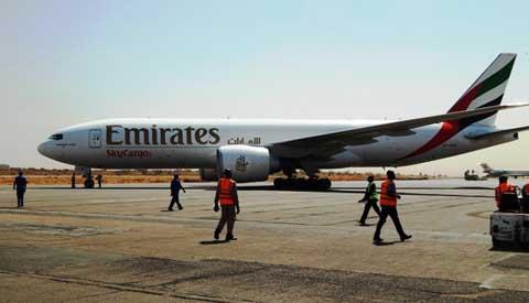 Emirates SkyCargo est désormais au Burkina Faso: Jusqu'à 100 tonnes de fret chaque mardi entre Ouaga et Dubaï
