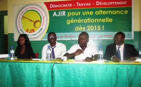 Parti AJIR: la coordination provinciale des élèves et étudiants du Kadiogo est sur pieds.