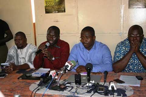 Situation nationale: Les organisations de la société civile annoncent des meetings ce samedi sur toute l'étendue du territoire
