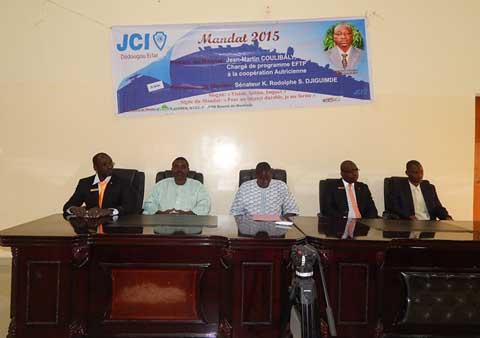 La jeune chambre internationale d dougou eclat charles bu ni coulibaly prend les commandes - Jeune chambre internationale ...