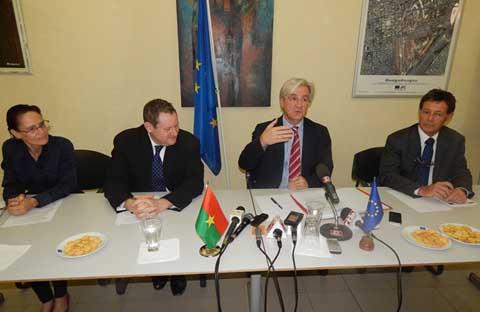 Transition politique au Burkina: L'Union européenne souhaite qu'elle soit «transitoire»