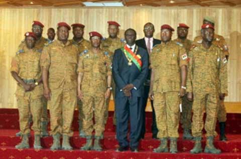 Situation nationale: le président du Faso a échangé avec les responsables militaires