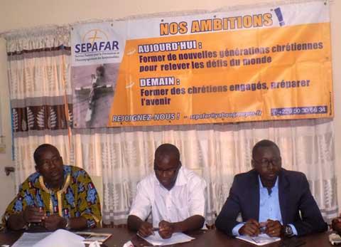 Deuxième grande conférence de SEPAFAR: Monseigneur Barrigah- Benissan attendu à Ouagadougou