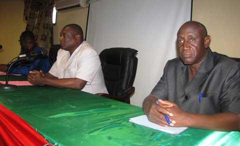 Présentation de vœux au MERH: le personnel s'engage à cheminer avec le Ministre Saïdou Maiga.