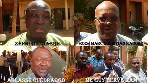 Transition en difficulté: Des partis politiques de l'ex-CFOP appellent à la disponibilité pour l'exécution de mots d'ordre
