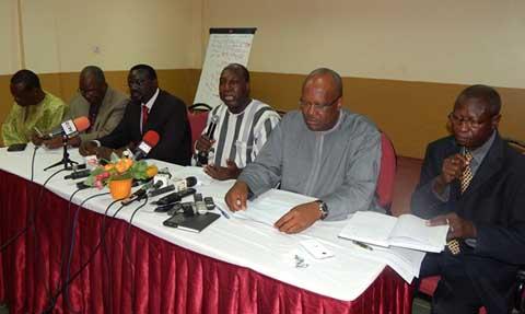 Meeting des OSC: Les partis politiques de l'ex-opposition appellent à une grande mobilisation