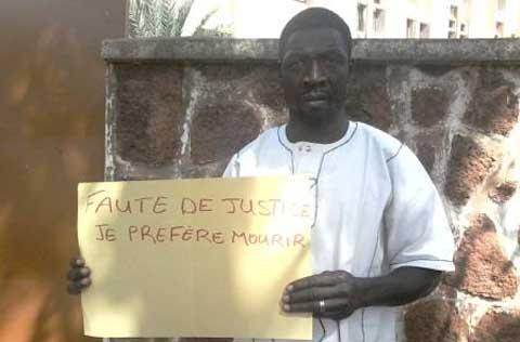 Cyril Sounkalo ancien immigré en Espagne: «Faute de justice, je préfère mourir»