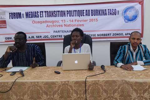 Transition burkinabè: Des acteurs interpellés sur leurs responsabilités