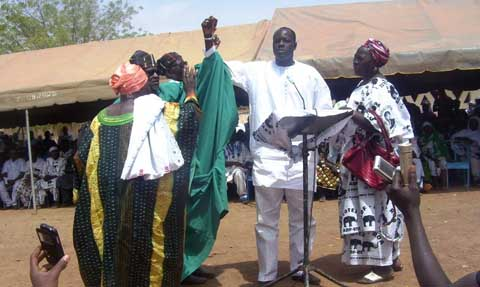 Gilbert Noël Ouédraogo aux populations de Ouahigouya: «Pardon, pardon et encore pardon»