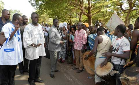 Présidence du Faso: Michel Kafanfo en visite officielle à Bobo-Dioulasso