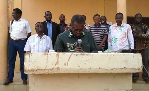 Sidiki Dramé,  SG-SYNATIC: «D'autres insurrections peuvent survenir»