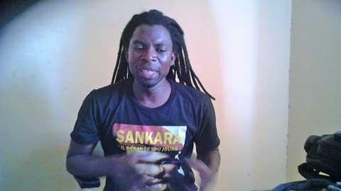 L'artiste Ocean à propos d'Elie Kamano: «Il parle de Sankara mais, devant l'argent, il agit en Bongo»