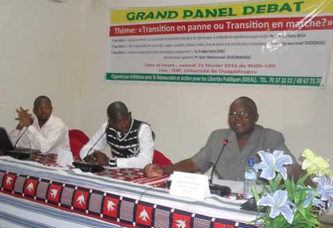 Transition au Faso: Que faut-il attendre de la commission de réconciliation nationale et des OSC?