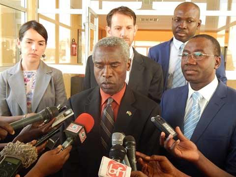 Appui aux autorités de la transition: L'Ambassadeur des Etats-Unis en parle avec le président du CNT