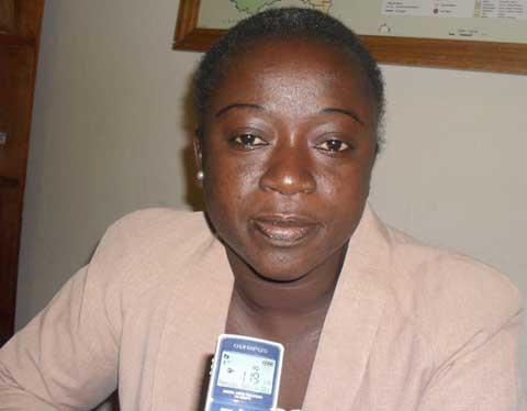 Colette Guiébré, responsable du projet ''Aide-moi à exister'': «En 2015, nous doterons 15 000 écoliers d'acte de naissance dans le Sanguié»