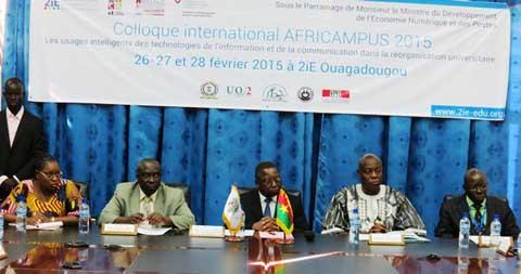 Africampus 2015: Les acteurs de la réorganisation universitaire se penchent sur  les politiques d'intégration des TIC