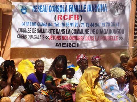 Réseau consola famille Burkina: Un lancement des activités sur fond de remise de vivres