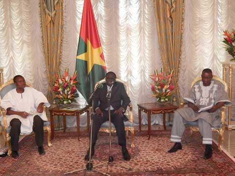 Une politique plus engagée: C'est ce que souhaite Michel Kafando au secteur de la culture burkinabè