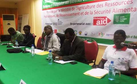 BRACED Burkina Faso: 11 milliards de francs cfa pour faire de la résilience une réalité