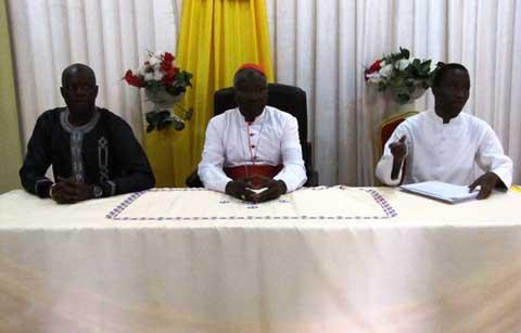 Audience: L'ADF-RDA poursuit son «Mea culpa» et demande conseils chez le Cardinal Ouédraogo.