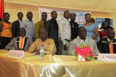 Secourisme: La JCI-Ouaga Metba initie un projet de formation
