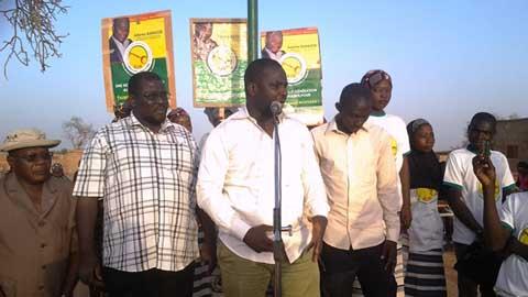AJIR: le parti de la clé appelle les populations de Djikôfè au vrai changement