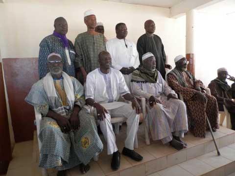 Bobo: Gilbert Noël Ouédraogo rend visite aux autorités coutumières et religieuses