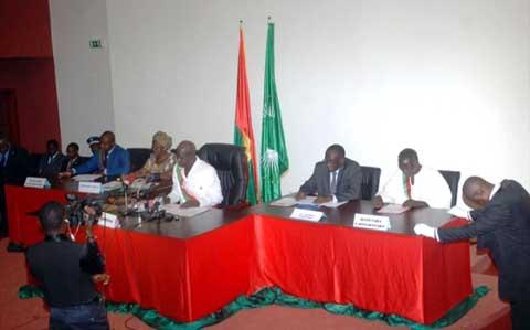 CNT: la loi portant prévention et répression de la corruption est adoptée