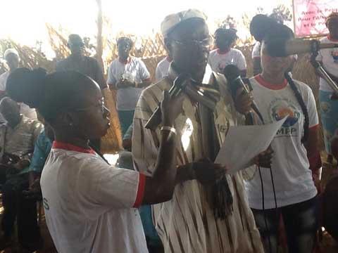 Boucle du Mouhoun: Salif Diallo, «l'idole» des agriculteurs