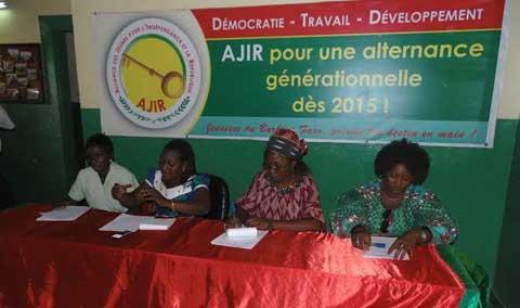 AJIR aux élections de 2015: la coordination provinciale des femmes  à pied d'œuvre