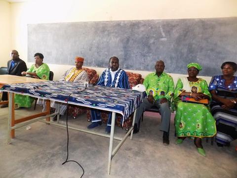 Sanmatenga: Zéphirin Diabré invite les populations à s'enrôler massivement