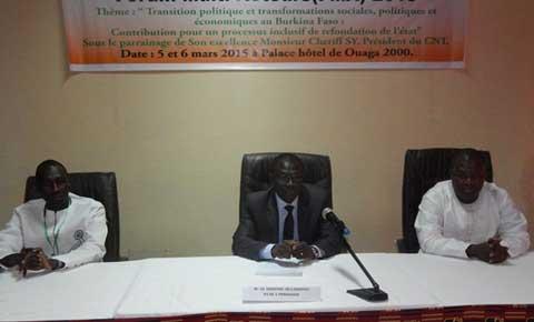 Réformes politiques et institutionnelles au Burkina: ARGA table sur trois axes