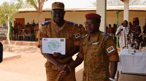 Bataillon Laafi 7: Pour la paix au Darfour, 800 militaires  burkinabè prêts à oser