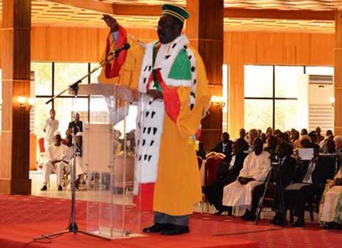 Conseil Constitutionnel: Kassoum Kambou prend les rênes de l'institution