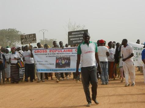 Quartier Bonheur-ville (Ouaga):  Un cross populaire citoyen comme mode d'interpellation citoyenne