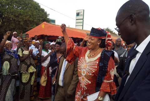 Présidentielle de 2015: Saran Sérémé mobilise à Bobo-Dioulasso