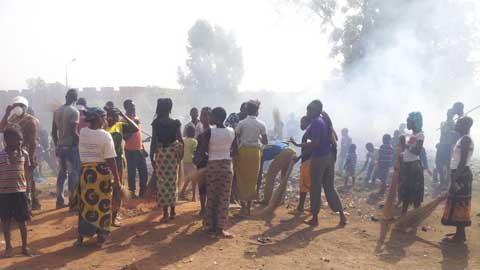 AJIR Bobo-Dioulasso: Une journée de salubrité pour mieux promouvoir le parti