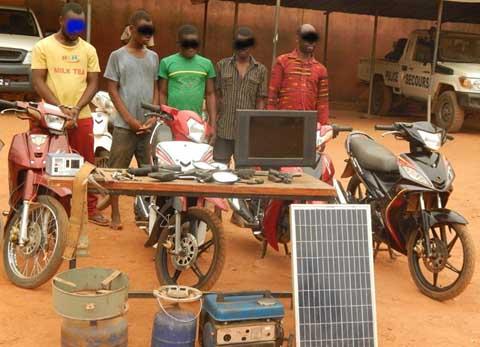 Insécurité à Ouagadougou: Deux gangs dans les filets de la police