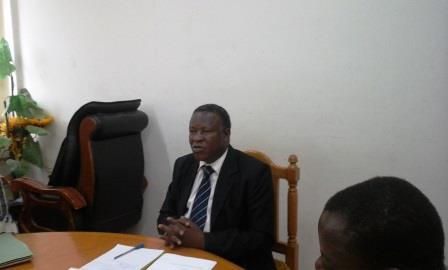 Annulation du test d'entrée au Centre de formation professionnelle des avocats: Pr Filiga Michel Sawadogo dit être déçu de cette accusation