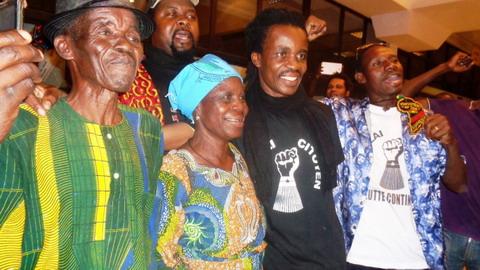Oscibi Johann de retour au Faso: «Je suis vivant»