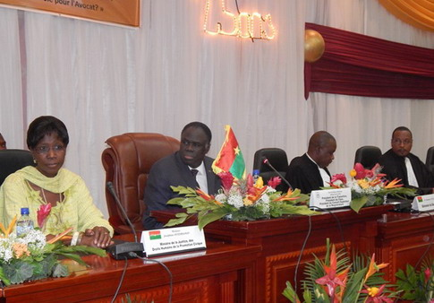 Rentrée du Barreau burkinabè: Formation et lutte contre la corruption, les défis à relever