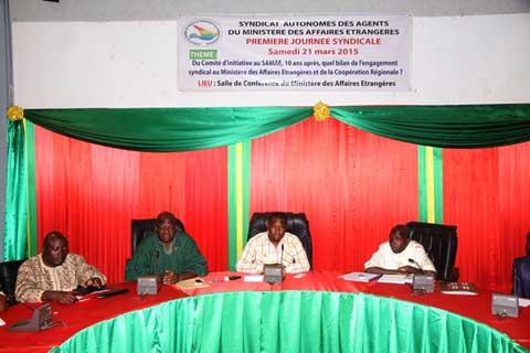 Journée syndicale des agents du ministère des affaires étrangères et de la coopération régionale: Faire le bilan de dix ans d'existence
