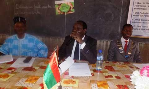 Journée Internationale de la Francophonie 2015: JCI Ziniaré et le CSF ont fêté avec les écoliers de Nab-Bingma