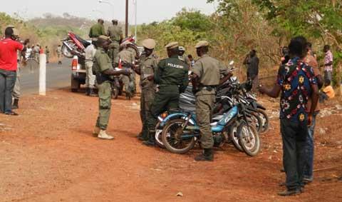 Bobo-Dioulasso: Plus de 130 véhicules saisis sur la route de la guinguette