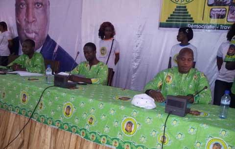 Union pour le progrès et le changement: Mahomed  Koné pilotera le bureau des jeunes du Houet