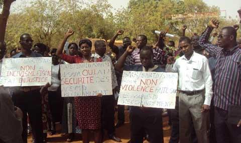 Sit-in à de la Trésorerie régionale du Nord: Des agents protestent contre l'agression de leur camarade par un contribuable